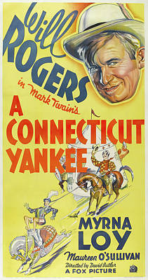 Sheep - A Connecticut Yankee poster 1931 by Stars on Art