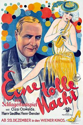Royalty-Free and Rights-Managed Images - A Crazy Night, 1927 by Stars on Art
