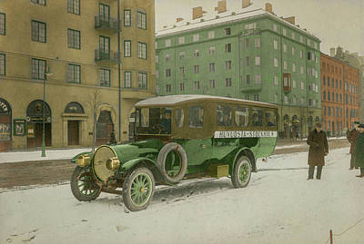 Fireworks - A Delaunay Belleville bus owned by the Russian Imperial court by Artistic Panda