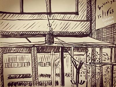 Drawing - A Diy Studio by Sukalya Chearanantana