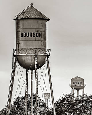 Royalty-Free and Rights-Managed Images - A Double Shot Of Bourbon in Sepia by Gregory Ballos