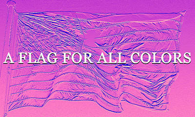 Royalty-Free and Rights-Managed Images - A flag for all colors by David Lee Thompson