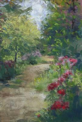 Painting - A Garden Walk by Debbie Robinson