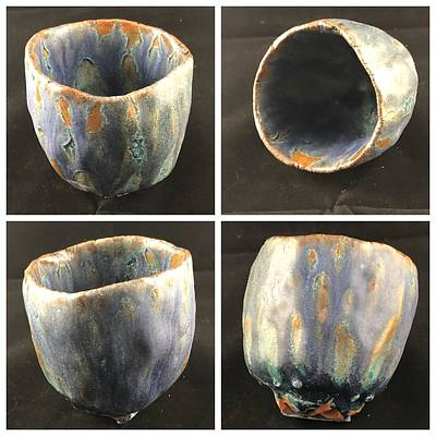 Not Your Everyday Rainbow - A Gift of the Kiln Gods  12Co by Mario MJ Perron