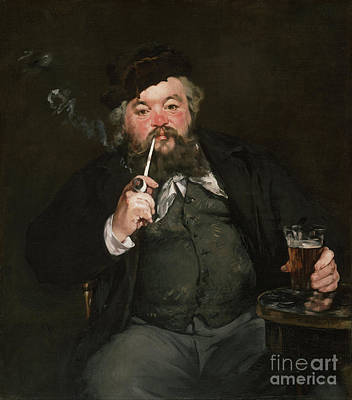 Ethereal - A Good Glass of Beer / Le bon bock - Remastered by Edouard Manet