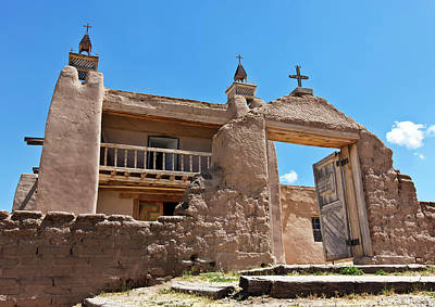 Nirvana - A Historic Church, San Jose de Gracia, Las Trampas, NM, USA by Derrick Neill