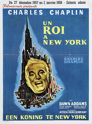 Royalty-Free and Rights-Managed Images - A King in New York, with Charles Chaplin, 1957 by Stars on Art