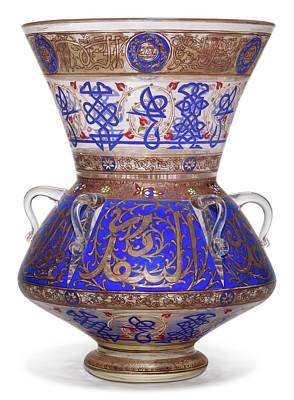 Pasta Al Dente Royalty Free Images - A large Mamluk revival enamelled glass mosque lamp, Europe, 20th century Royalty-Free Image by Artistic Rifki