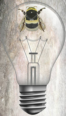 Firefighter Patents Royalty Free Images - A light bulb moment, with a sting. Royalty-Free Image by Tony Hulme