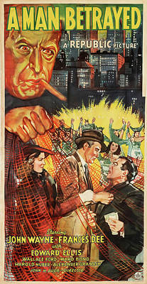 Animal Portraits - A Man Betrayed poster 1941 by Stars on Art
