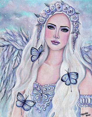 Painting - A new beginning angel by Renee Lavoie