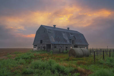Royalty-Free and Rights-Managed Images - A New Day In Kansas by Darren White