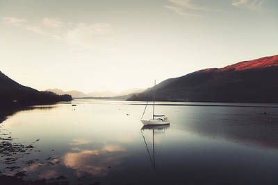 Photograph - A New Day In Scotland by Philippe Sainte-Laudy