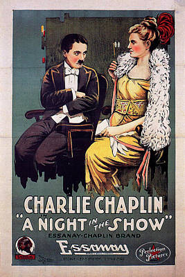Halloween Movies - A Night in the Show 1915 by Stars on Art