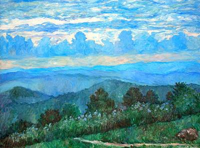 Animal Watercolors Juan Bosco - A Path to Rock Castle Gorge in the Evening by Kendall Kessler