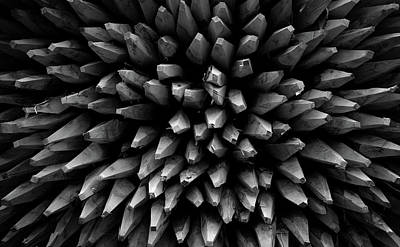 Surrealism Royalty-Free and Rights-Managed Images - A Pile of Stakes by Mark Robert Davey