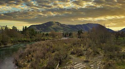 Western Art - A River Runs Through It - Enhanced by Mick Anderson