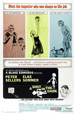 Personalized Name License Plates - A Shot In the Dark, with Peter Sellers and Elke Sommer, 1964 by Stars on Art