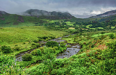 Photograph - A Soft Day Along Ireland's Ring Of Kerry by Marcy Wielfaert