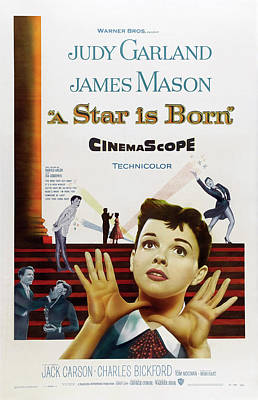 Moody Trees - A Star is Born, with Judy Garland and James Mason, 1954 by Stars on Art