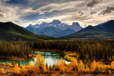 Travel - A touch of Bow Valley Gold by James Anderson