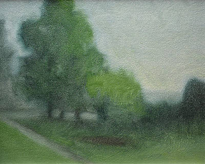 Painting - A View At Holden Arboretum by Curtis Green