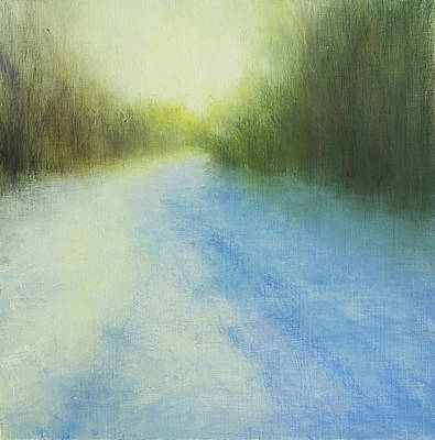 Painting - A Walk on the Island by Victoria Veedell