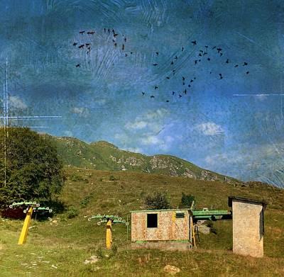 Photograph - Abandoned by Cosmina Lefanto