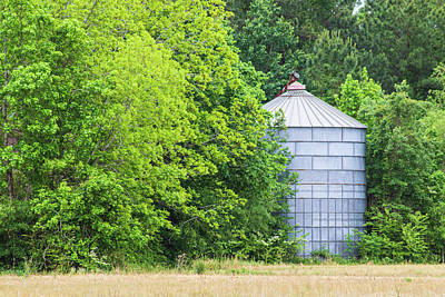 Pasta Al Dente - Abandoned Grain Bin - Eastern North Carolina by Bob Decker