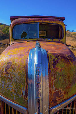 Travel Rights Managed Images - Abandoned Truck - 10415 Royalty-Free Image by Wally Hampton