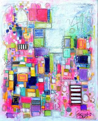 Painting - Abso-freakin-lutely by Elena Kent