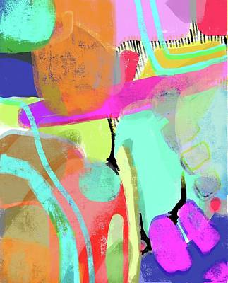 Studio Grafika Vintage Posters - Abstract 3 by Robin Mead