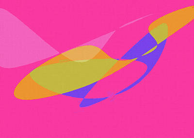 Royalty-Free and Rights-Managed Images - Abstract Color Composition No 1022 2021 by Ahmet Asar by Celestial Images