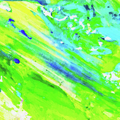 Royalty-Free and Rights-Managed Images - Abstract Color Composition No 802 2021 by Ahmet Asar by Celestial Images