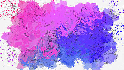 Royalty-Free and Rights-Managed Images - Abstract Color Composition No 823 2021 by Ahmet Asar by Celestial Images