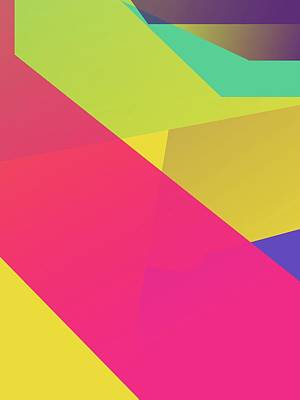 Royalty-Free and Rights-Managed Images - Abstract Colorful Gradient Pop Art 165 by Ahmad Nusyirwan