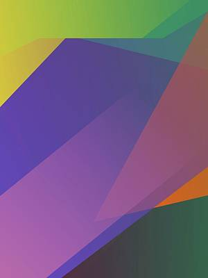 Royalty-Free and Rights-Managed Images - Abstract Colorful Gradient Pop Art 177 by Ahmad Nusyirwan