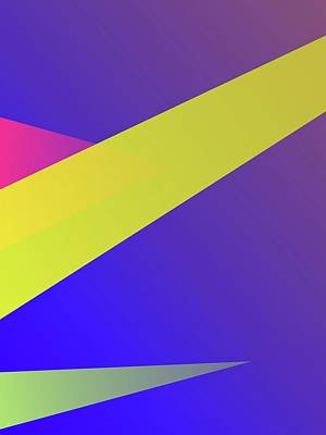 Royalty-Free and Rights-Managed Images - Abstract Colorful Gradient Pop Art 198 by Ahmad Nusyirwan