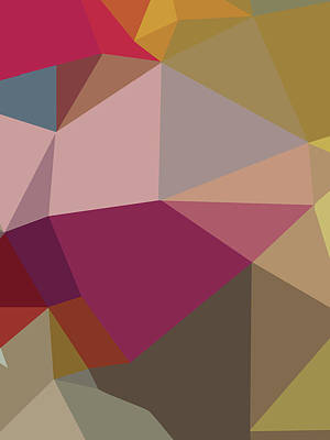Royalty-Free and Rights-Managed Images - Abstract Colorful Polygon 1 by Ahmad Nusyirwan