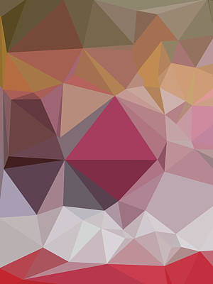 Royalty-Free and Rights-Managed Images - Abstract Colorful Polygon 14 by Ahmad Nusyirwan