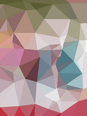 Wild And Wacky Portraits Rights Managed Images - Abstract Colorful Polygon 15 Royalty-Free Image by Ahmad Nusyirwan