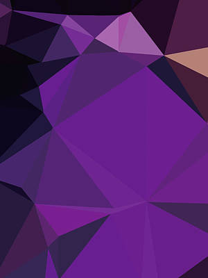 Royalty-Free and Rights-Managed Images - Abstract Colorful Polygon 31 by Ahmad Nusyirwan