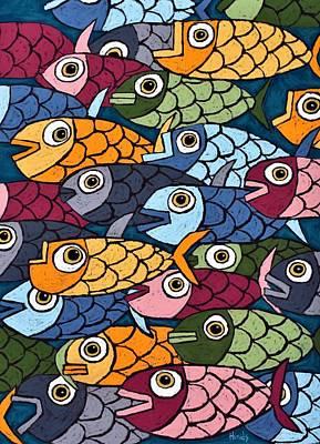 Car Photos Douglas Pittman - Abstract Fish by David Hinds