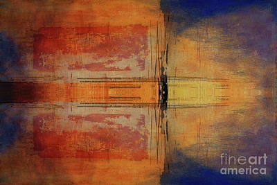 Vermeer Rights Managed Images - Abstract Doodle Royalty-Free Image by Jim Hatch