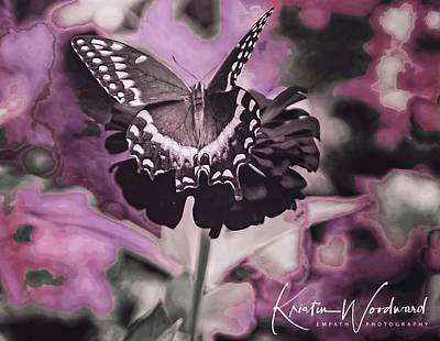 Animals Royalty-Free and Rights-Managed Images - Abstract Monarch by Kristin Woodward
