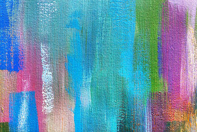 Royalty-Free and Rights-Managed Images - Abstract Oil Paint Texture On Canvas by Julien
