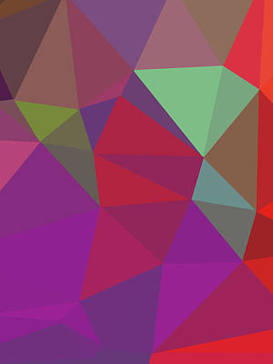 Royalty-Free and Rights-Managed Images - Abstract Polygon Illustration Design 101 by Ahmad Nusyirwan