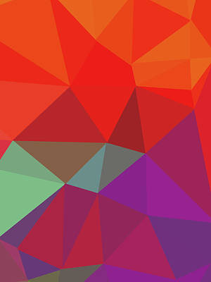 Royalty-Free and Rights-Managed Images - Abstract Polygon Illustration Design 102 by Ahmad Nusyirwan