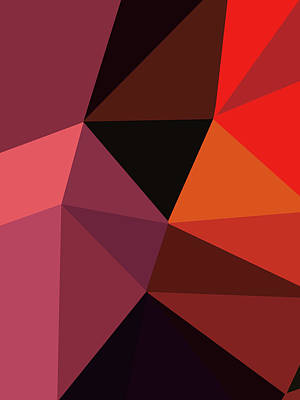 Royalty-Free and Rights-Managed Images - Abstract Polygon Illustration Design 107 by Ahmad Nusyirwan