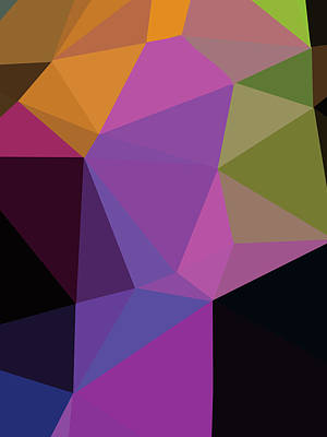 Royalty-Free and Rights-Managed Images - Abstract Polygon Illustration Design 109 by Ahmad Nusyirwan